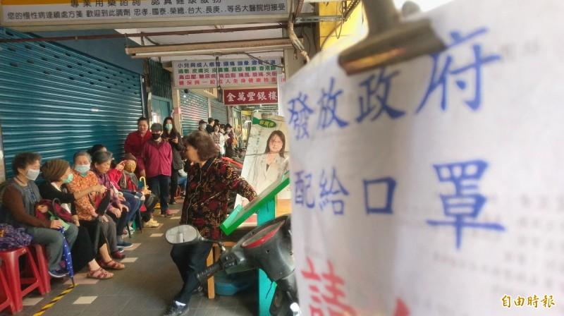 台灣民間快速利用政府開放資料建立口罩供需平台,行政院政務委員唐鳳表示,許多國家都對台灣的快速反應感興趣,也透過網路看到實作過程。(記者方賓照攝)