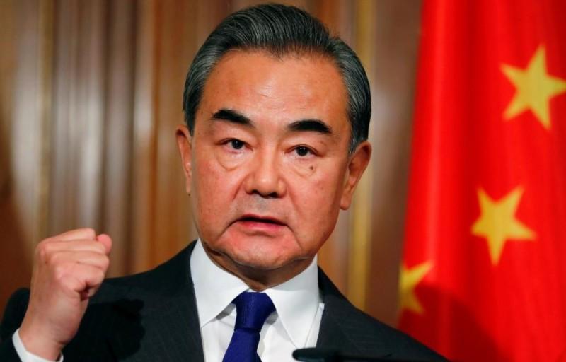 中國外交部長王毅。(路透)