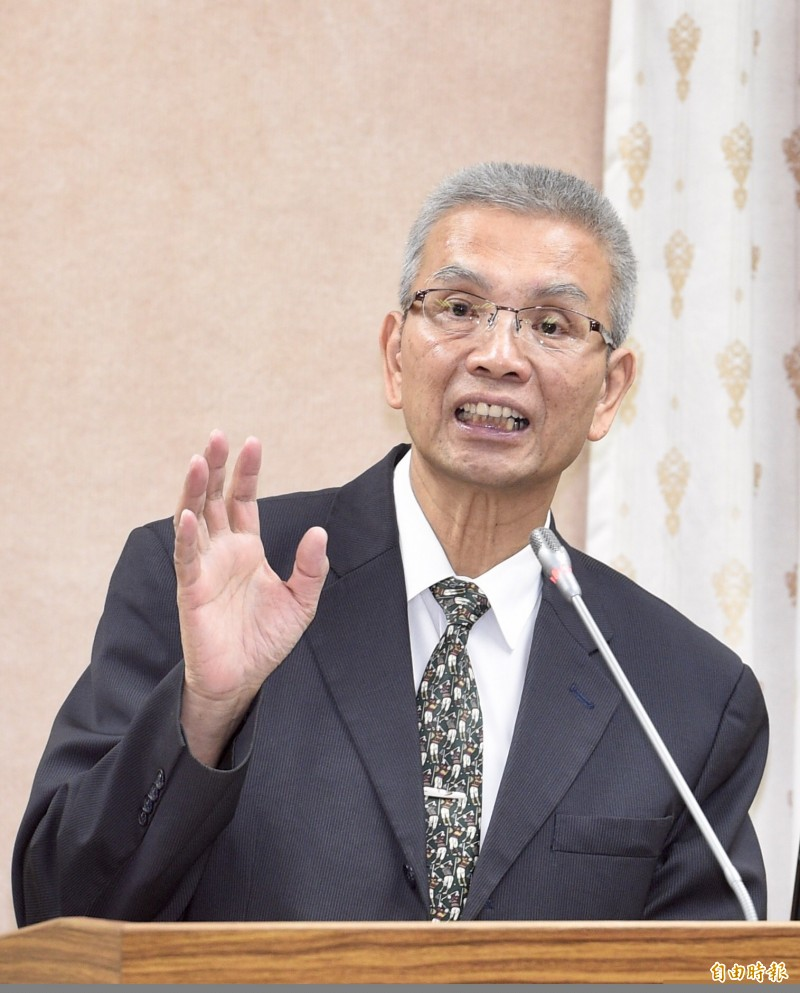 前財政部長、現任期貨交易所董事長許虞哲今天辭世,享壽67歲。(資料照)