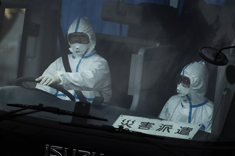 日本昨日(14)爆8例確診病例,目前傳染途徑不明。(法新社)