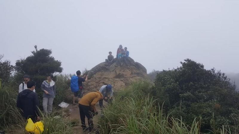 里龍山的風景悠美,吸引山友前往(圖:山友張春華提供)