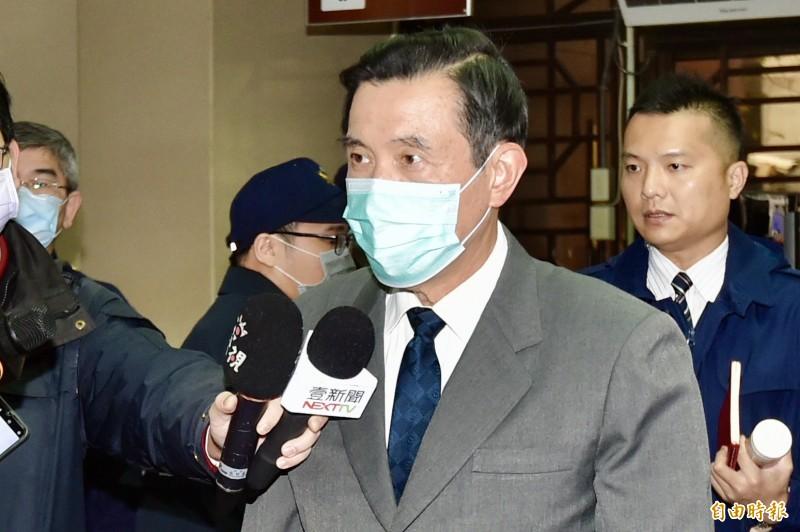 政府禁止非中華民國籍的陸配子女入境政策,前總統馬英九向蔡英文總統喊話。(資料照)