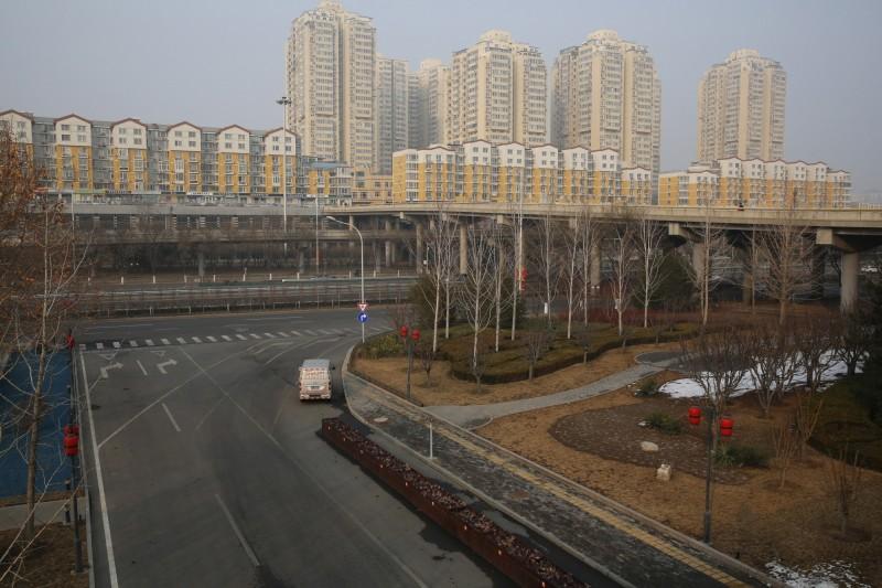 中國湖北省宣布強化防疫,全湖北省所有社區施行24小時封閉管理。(歐新社)