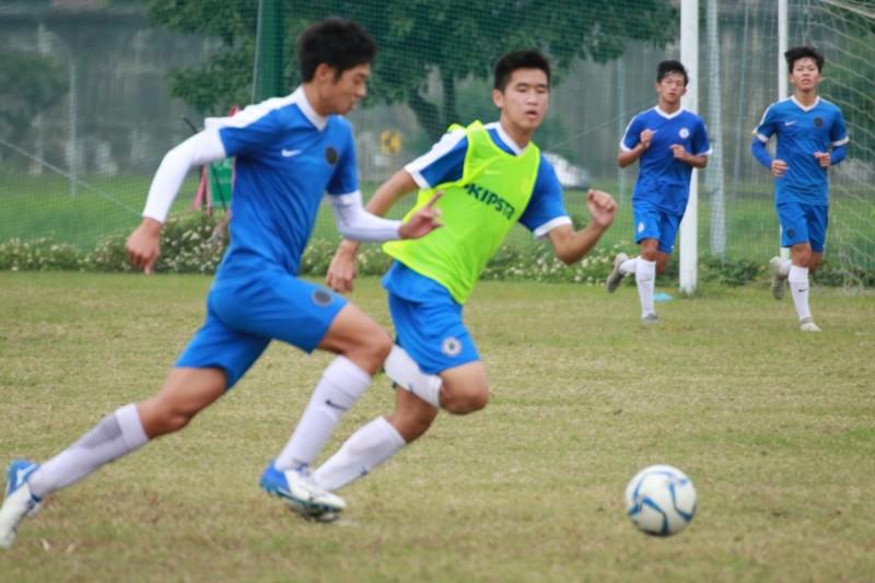 台北市迎風球場將於2月28日舉辦「青少年足球大計畫」球員評鑑檢測活動。(社團法人台灣迎風國際足球產業推廣協會提供)
