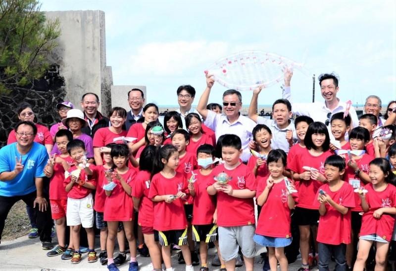 合橫國小在教育上的突出表現,使其成為澎湖第一所公立實驗小學。(合橫國小提供)