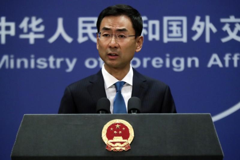 耿爽今天表示,有1名海外中國僑胞捐錢給武漢,隔天就離開人間。(美聯社檔案照)