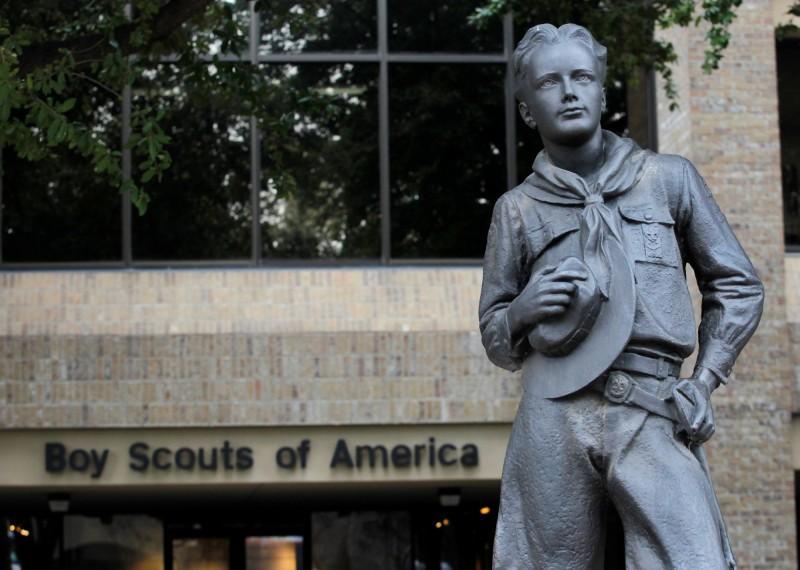 美國童軍申請破產保護。(路透)