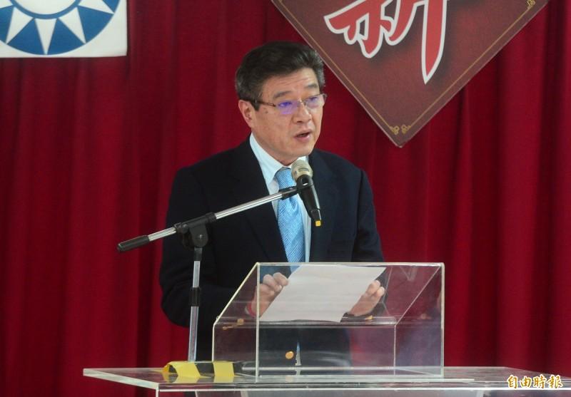 國民黨代理黨主席林榮德。(資料照)