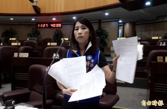 桃園地方法院裁定桃園市議員舒翠玲200萬元交保。(資料照,記者謝武雄攝)