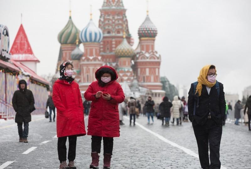 俄羅斯宣布20日起,全面禁止中國人入境。(彭博)
