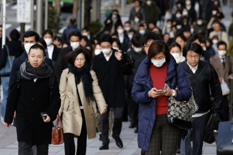 日本千葉縣20日增一例武漢肺炎確診,縣內目前累積8例。(美聯社)