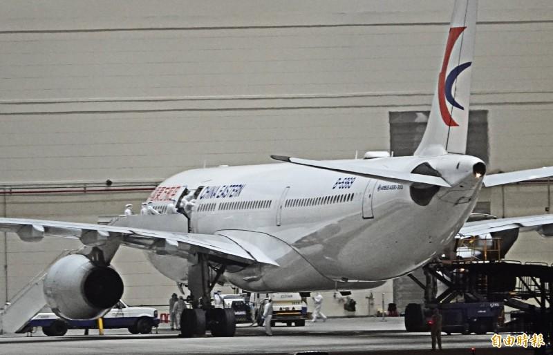 湖北省台辦表示,東方航空包機已經準備好,呼籲民進黨盡快同意東航的運送安排。(資料照)