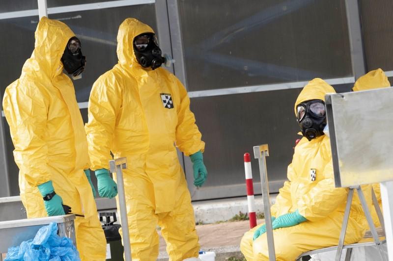 義大利傳新增一名武漢肺炎本土病例。(歐新社)