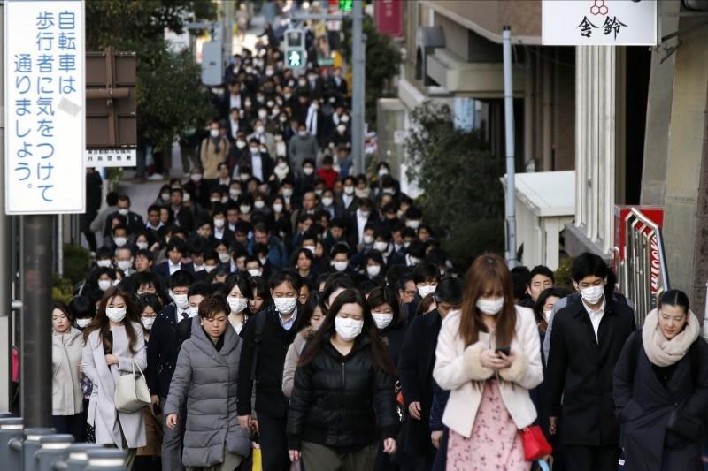 日本疫情延燒,累積確診數已達103例。(美聯社)