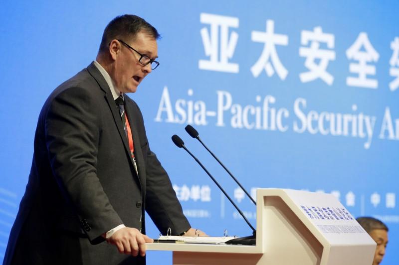美國國防部首任中國副助理部長施燦得表示,由於疫情仍在持續當中,且不斷發生變化,仍不清楚疫情對中國造成多大影響,但就他對解放軍的觀察,「還挺有意思的」。(路透社資料照)