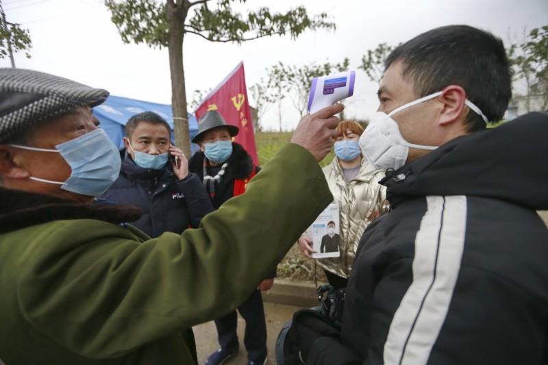 中國四川出現有康復者二次感染案例。(美聯社)