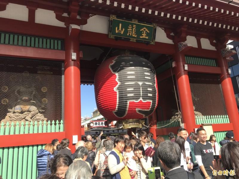 因武漢肺炎疫情影響,台人最愛去的日本,恐怕暫時不能再去了!(記者簡亭宇攝)
