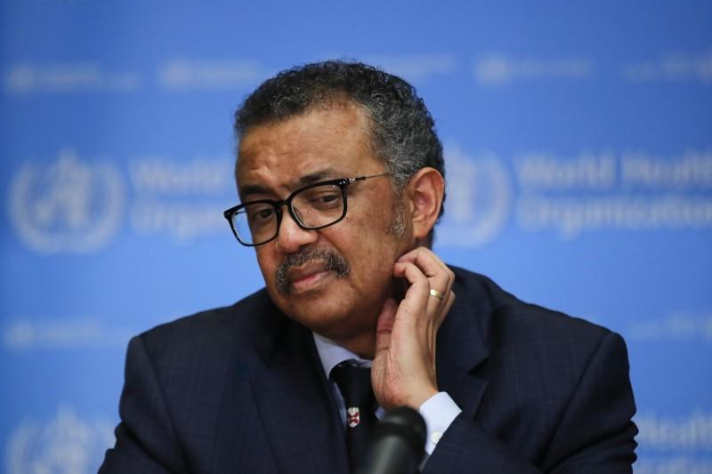 世界衛生組織秘書長譚德塞坦承,遏止疫情的機會之窗正在縮小。(彭博)