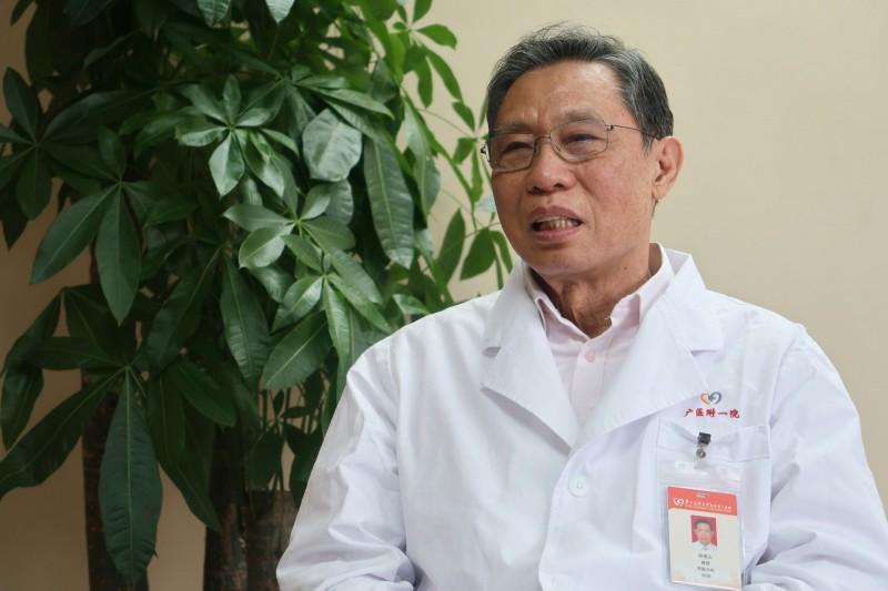 中國防疫專家鍾南山團隊再度發表最新研究,22日在廣州市記者會上表示從確診患者的尿液樣本中分離出武漢肺炎病毒毒株。(路透社資料照)