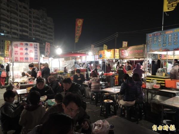 位於台南中西區的武聖夜市是台南3大知名觀光夜市,近日卻傳出即將熄燈,引發外界議論。(資料照)