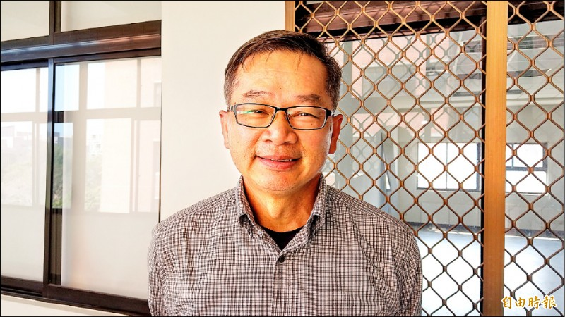 成大副校長吳誠文認為,台灣擁有很好的科技實力,想要增加經濟實力,應發展運動科技產業。(記者劉婉君攝)