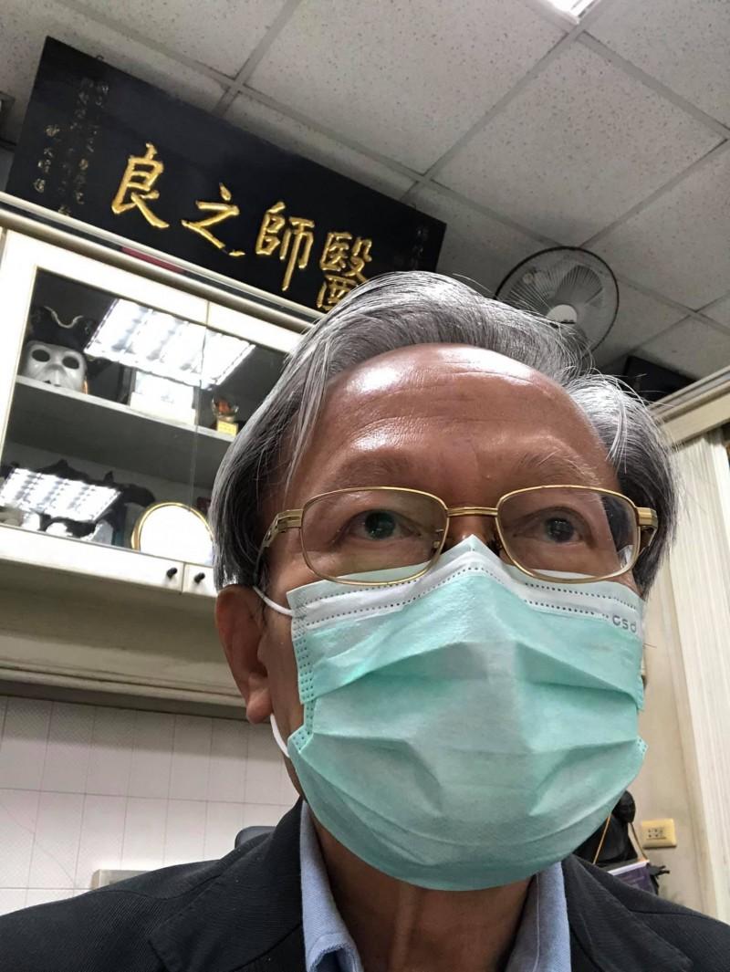 小鎮醫師陳錦煌針對大甲媽祖遶境,提出5點防疫困難點。(擷取自陳錦煌臉書)