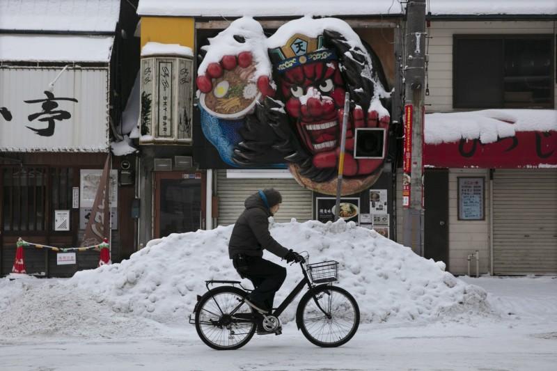 北海道札幌市今日下午宣布,再添4名確診病例。(美聯社)