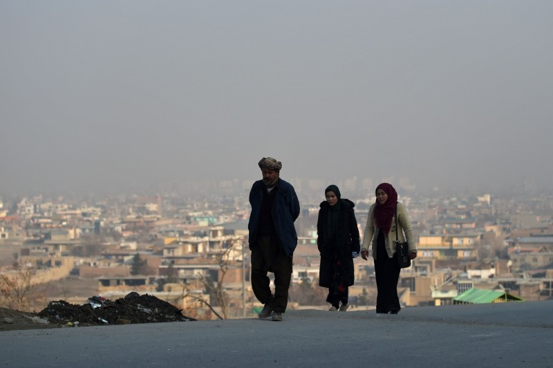阿富汗赫拉特省西部3名疑似病患中,確診1名感染武漢肺炎病患。(法新社)