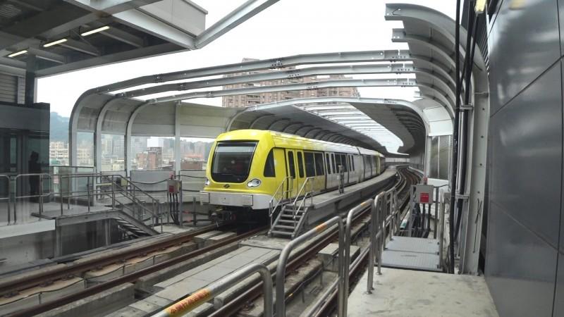 台北捷運環狀線目前累積運量已突破百萬。(北捷提供)
