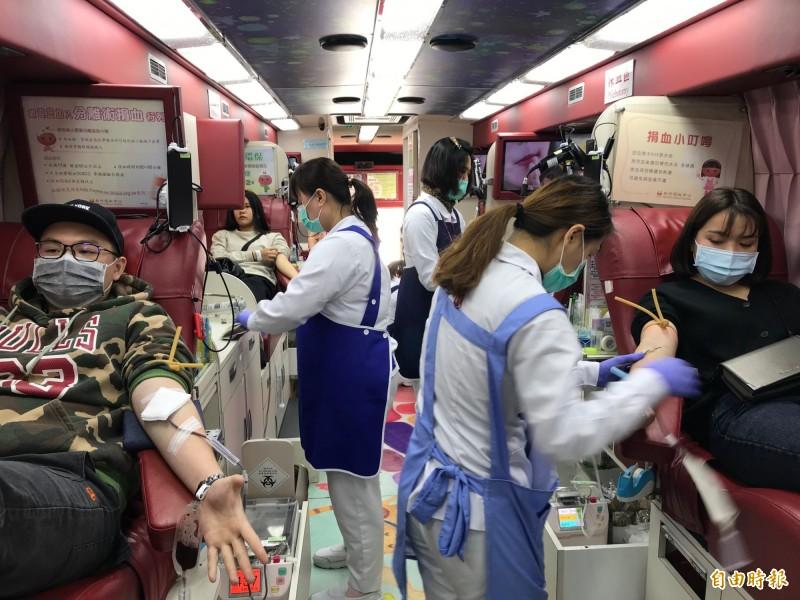血液基金會宣布,從義大利回國的民眾,若要捐血須暫緩28天之後,確保血品安全。(資料照)