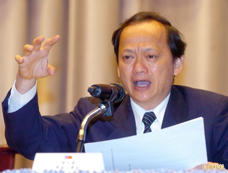 前衛生署署長葉金川(見圖)今受訪表示,現在疫情緊張,台北市長柯文哲、前總統馬英九等人都應該少講話。(資料照)