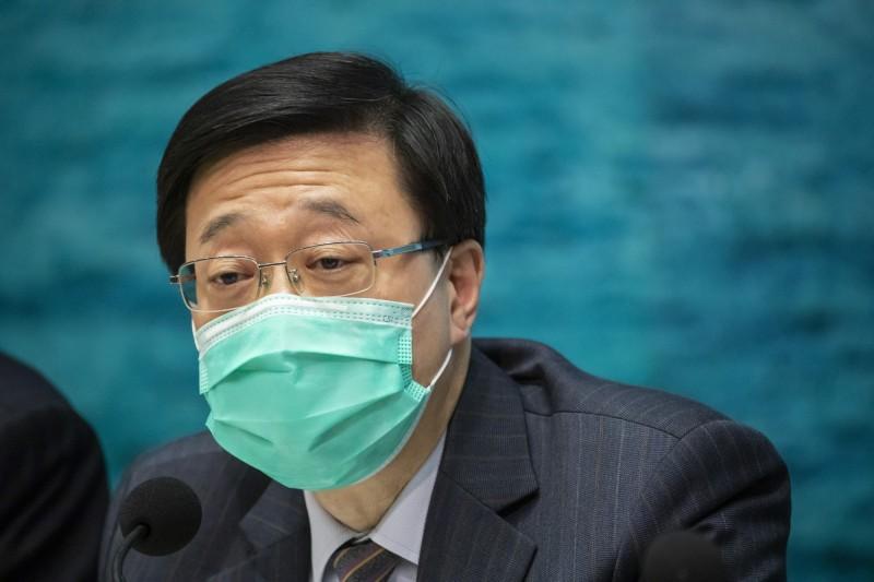 香港保安局局長李家超。(彭博)