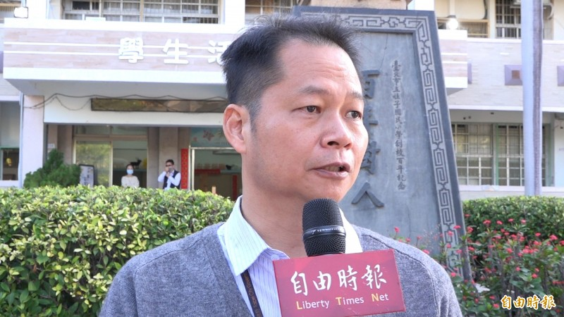社子國小校長談校園防疫工作(本報資料照)