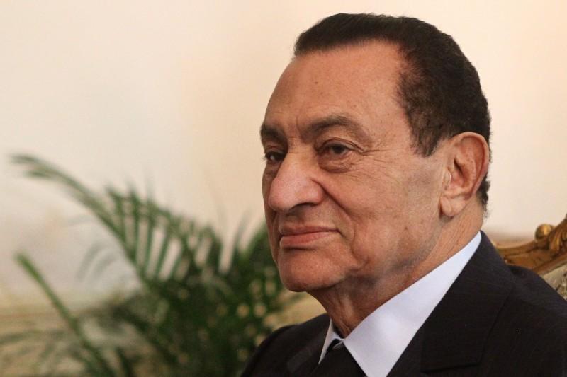 曾掌權30年、被稱為「現代法老」的埃及前獨裁總統穆巴拉克(Hosni Mubarak)今(25)日傳出辭世消息 。(法新社)