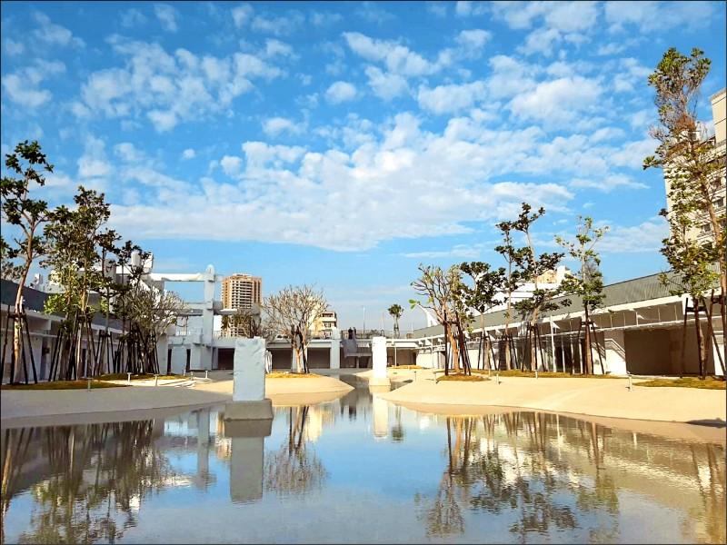 河樂廣場有「世界七大令人期待公園」的美稱。(都發局提供)