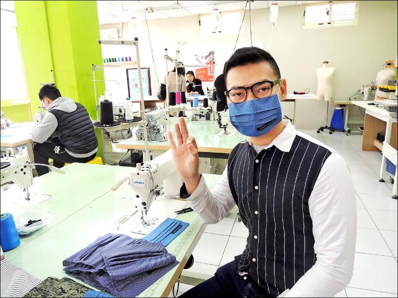 食藥署研究確認,有「不織布」、「活性碳」、「防PM2.5」等特性的一般布口罩,其實防護效果和醫療用口罩差不多。(資料照)