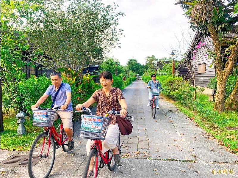 花蓮交通安全、疫情中央控制得宜,讓旅客能安心到花蓮遊玩。(記者王峻祺攝)