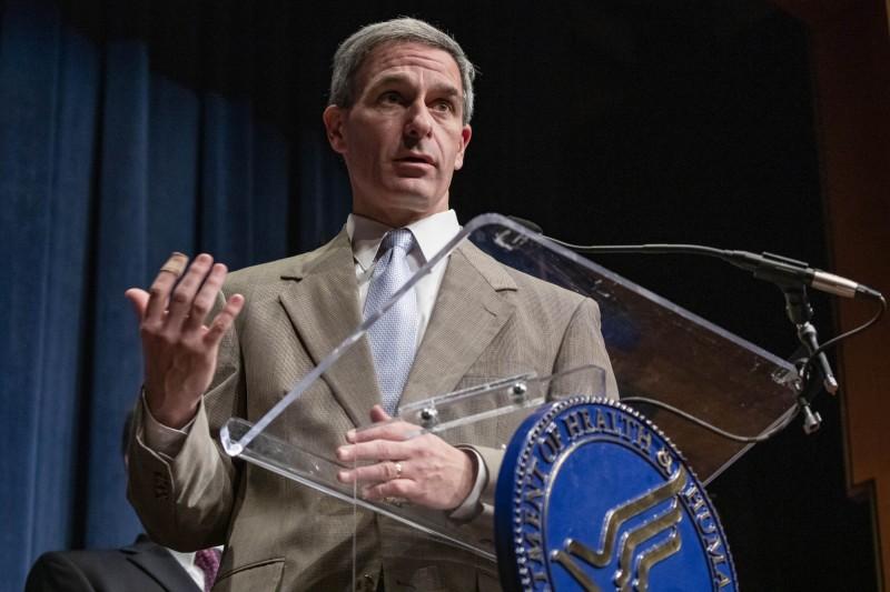 武漢肺炎疫情肆虐全球,美國國土安全部代理副部長庫奇奈利指出,「不能排除病毒為人造的可能性」,並暗指武漢P4實驗室。資料照。(法新社)