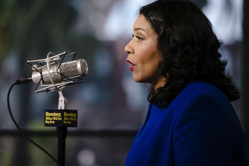 出於對武漢肺炎疫情大爆發的擔憂,舊金山市長布里德宣布該市進入緊急狀態。(彭博)