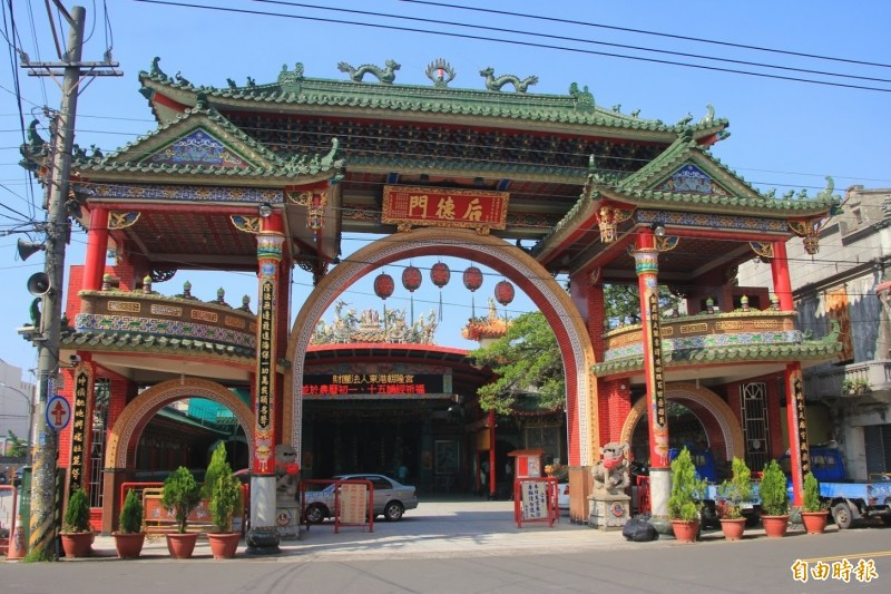 東港朝隆宮決定延期今年的遶境活動。(記者陳彥廷攝)