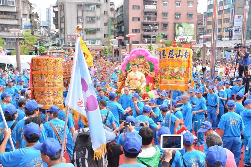 昔日的台北母娘文化季活動。(記者邱俊福翻攝)