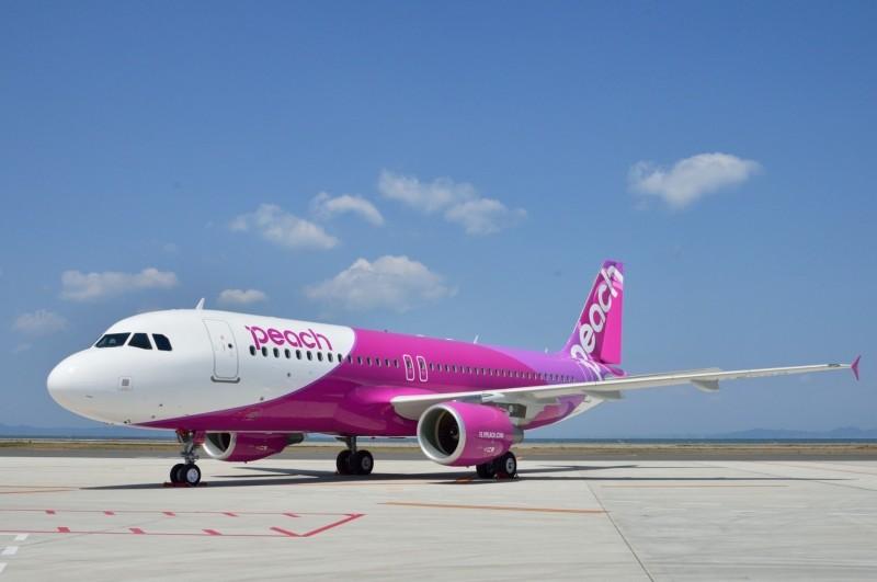 武漢肺炎疫情不斷延燒,日本樂桃航空今日宣布,3月起將大幅減班、停飛。(資料照,樂桃航空提供)
