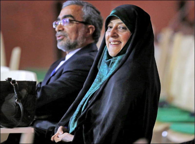 伊朗副總統馬蘇梅‧艾伯特卡(Masoumeh Ebtekar)感染新型冠狀病毒,成為目前全球已知最高層級的確診病例!(美聯社檔案照)