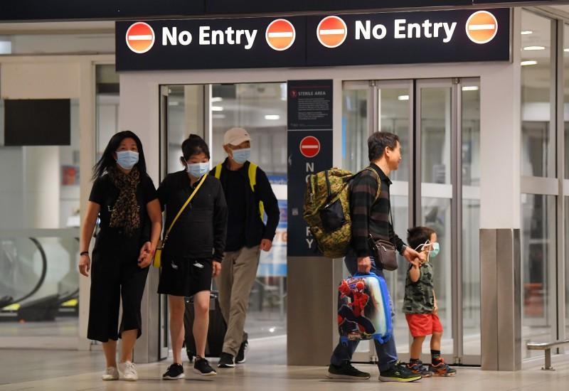澳洲政府自明天起,將對剛去過伊朗的外籍人士祭出入境禁令。(歐新社)