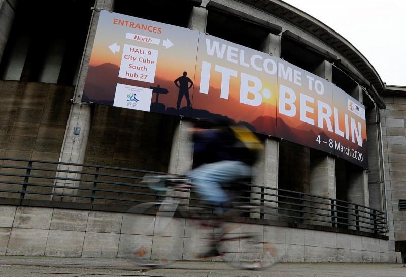 受武漢肺炎疫情衝擊,全球最大柏林旅展宣佈取消。(路透)