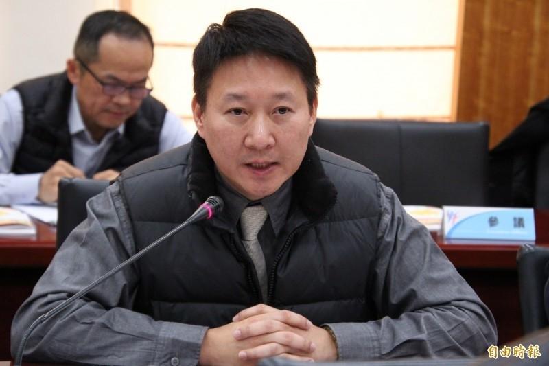 新竹縣前文化局長李猶龍。(本報資料照片)