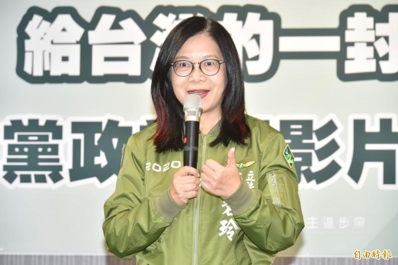 民進黨籍立委管碧玲。(資料照)