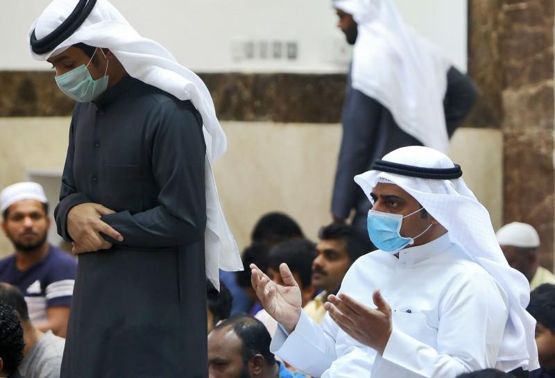 科威特境內新增10例武漢肺炎確診,累計確診人數56例,成為確診人數僅次於伊朗的中東國家。。(法新社)