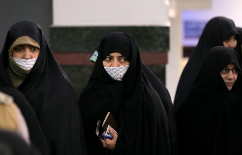 武漢肺炎疫情全球擴散,伊朗成為中國以外死亡人數最多的國家,今天又新增523確診病例、12例死亡,目前累計1501例、66例死亡。(法新社)