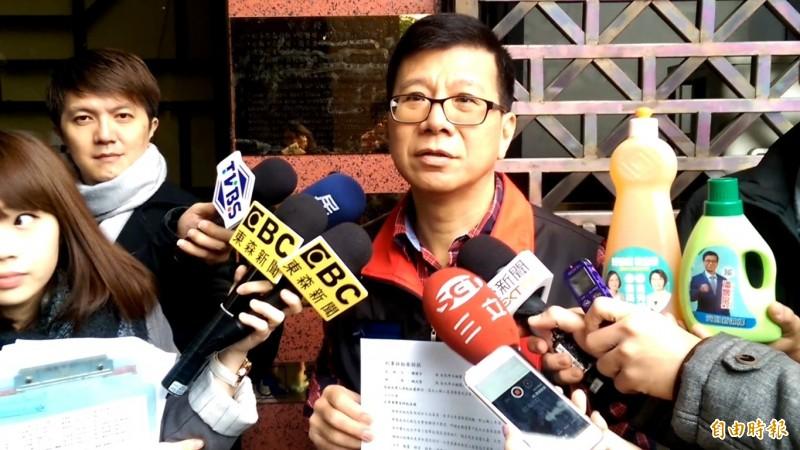 新黨台北市議員潘懷宗(見圖)在談話節目上引用中國媒體文章,「講解」武漢肺炎病毒(COVID-19)的基因序列與病毒起源,更推測病毒疑似從美國來。(資料照)